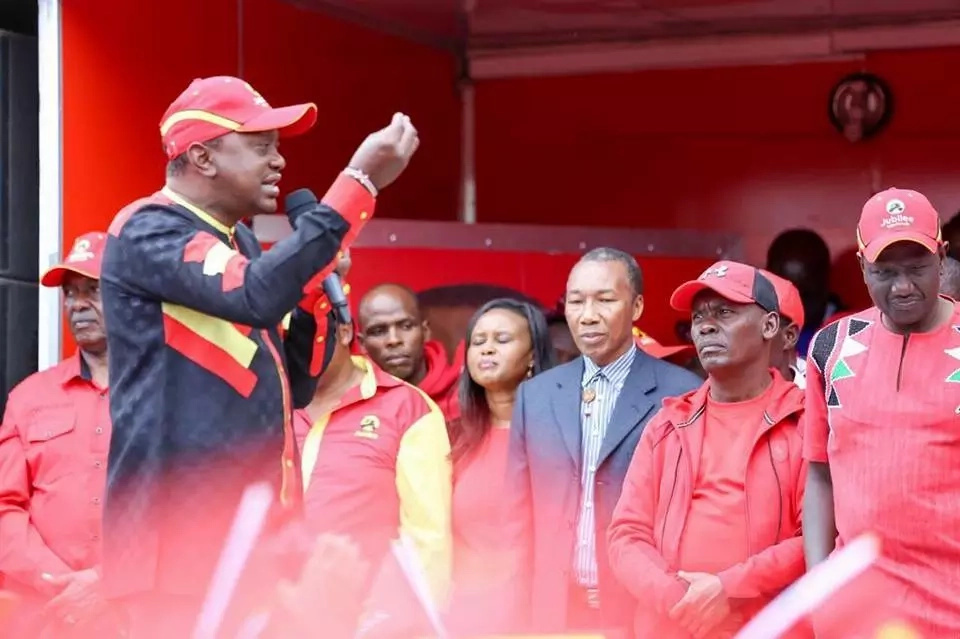 Kiambu Jubilee residents rally behind Governor Kabogo as Ferdinard Waititu watches