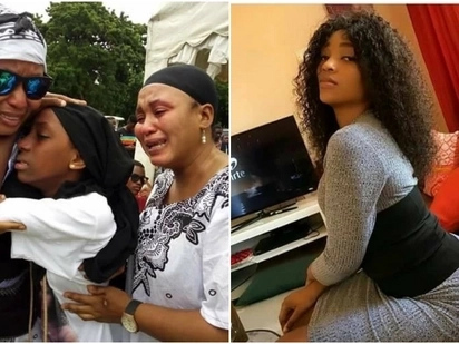 Tears flow freely as voluptuous Tanzania video vixen, Masogange, is buried