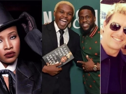 Chipukeezy shamed by Kenyan actress in Hollywood after meeting Kevin Hart