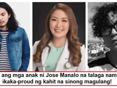 Masuwerteng ama! The successful children of Jose Manalo are definitely his pride and joy