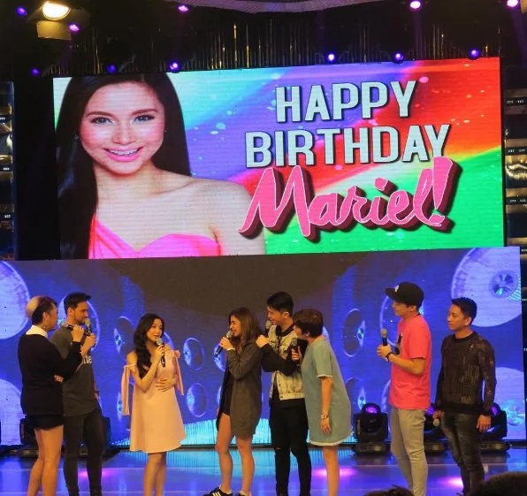 Mariel becomes emotional on her birthday