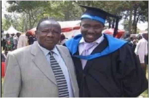 Citizen TV anchor Willis Raburu's dad is his exact replica and Kenyans can't cope