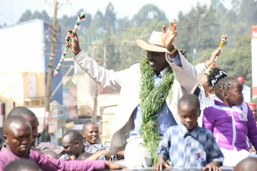 Once we reelect Uhuru Kenyatta, you will know this Kenya has its owner Mandaga tells Raila