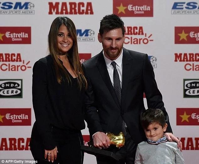 Barcelona ace Lionel Messi wins prestigious award ahead of arch-rival Cristiano Ronaldo