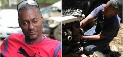 Meet the BLIND Nairobi mechanic that has surprised everyone