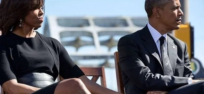 Obama shows off his MUSCLES as he enjoys holiday will billionaire