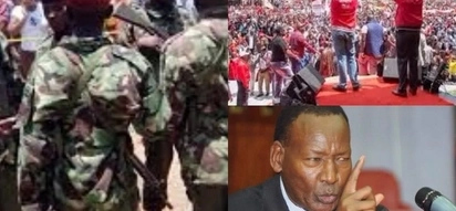 CS Nkaissery sends STERN warning to Jubilee Party