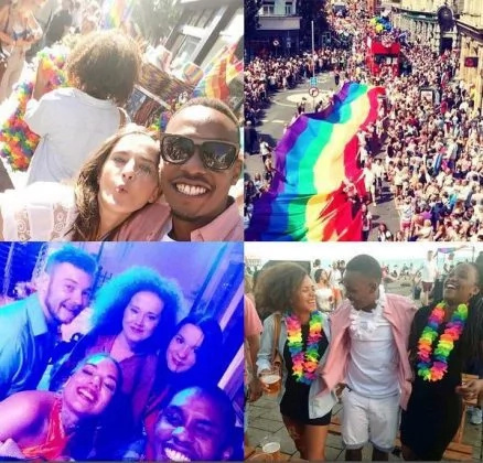 Kabogo's popular son attends a gay parade in England