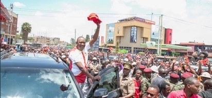 Uhuru rules out negotiations with Raila