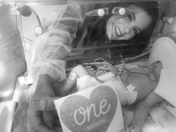 Tristeza absoluta: falleció la hija de Wisin