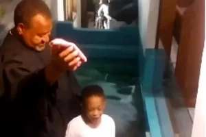 Epic! Read what this little boy did before the pastor could baptise him