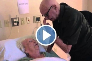 WATCH: This old man singing a love song to his DYING 93-year-old wife will break your heart