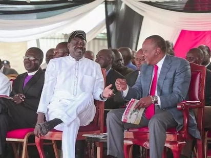 I want to be in govt not part of Uhuru's govt - Raila Odinga