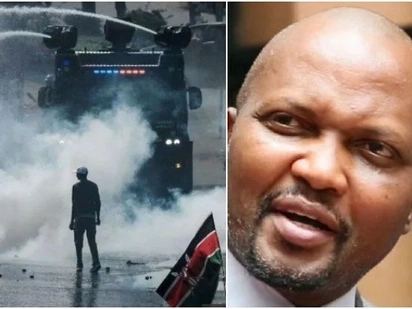 Any invitation to protests by your leaders is like asking to be killed - Moses Kuria warns NASA supporters