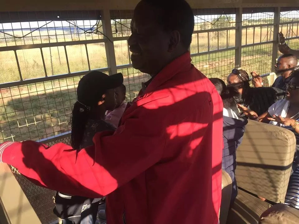 Raila Odinga spending Easter with his family in South Africa (photos)