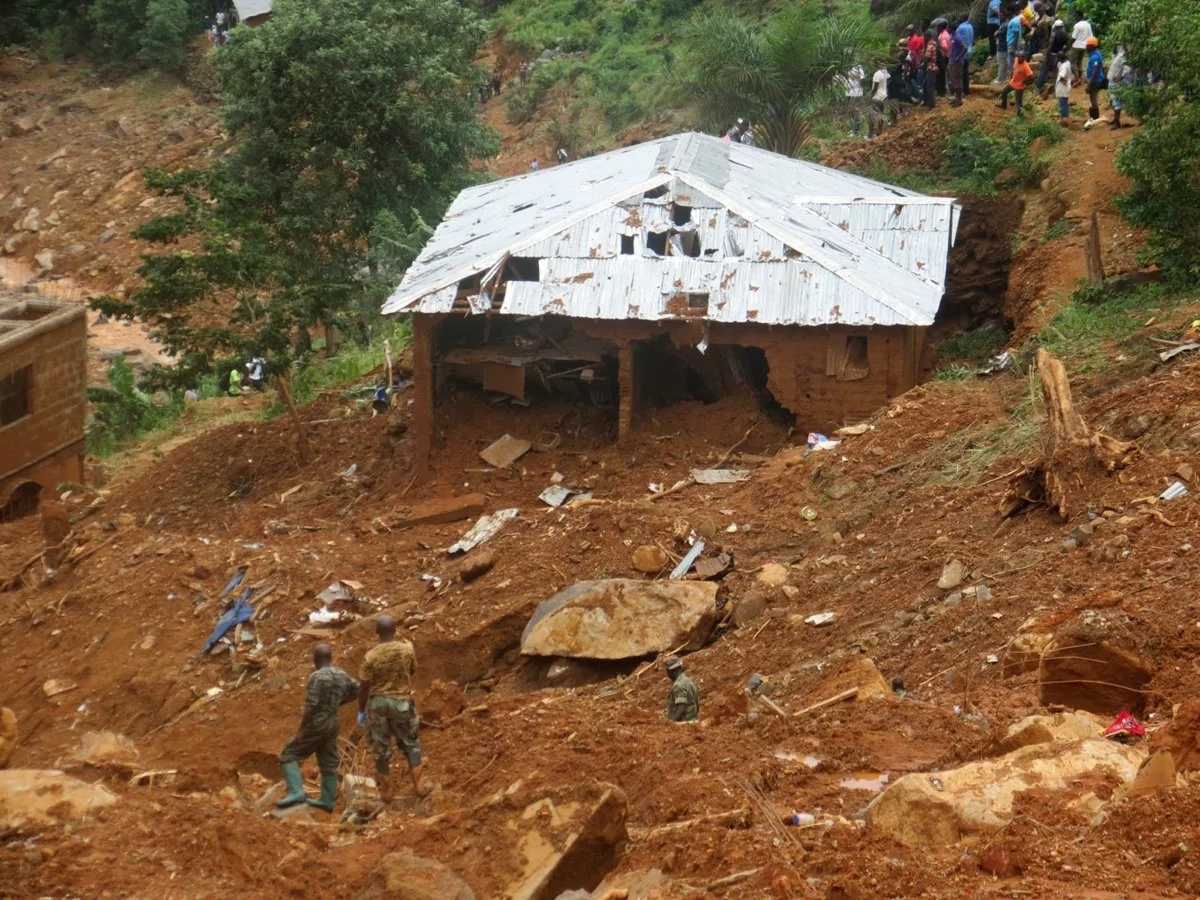 Tragedy as mudslides sweep away school, killing teachers