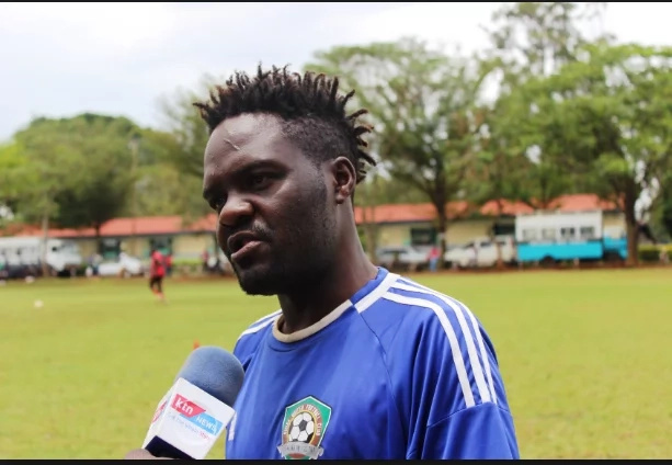 Police officer reveals how Kenyan former star footballer is sick and is living in abject poverty(photos)