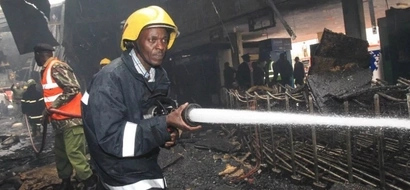 PROTEST: Nairobi Firefighters Fight For Their Land