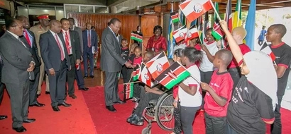 President Uhuru Attends Taxpayers' Day, See Amazing Photos