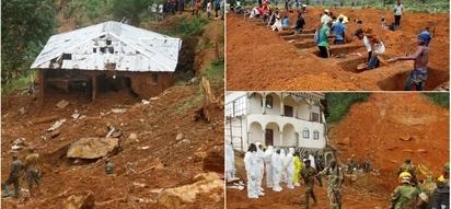 Tragedy as mudslides sweep away school, killing teachers
