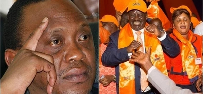 Uhuru's Jubilee SUFFERS again as Raila officially receives several defectors