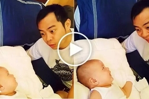 Hilarious Chito Miranda 'converses' with his cute baby Miggy: 'Magagalit si mommy!'