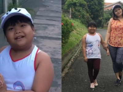 Child star-turned-tween Ryzza Mae Dizon is serious about losing weight now