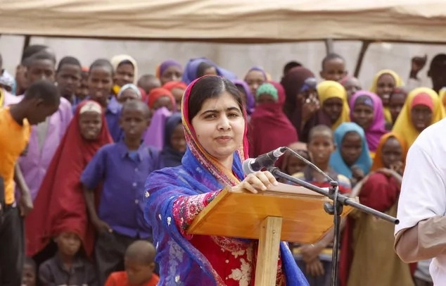 Nobel peace prize winner Malala celebrates birthday in Kenya