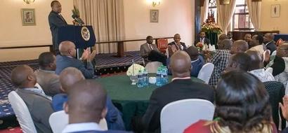 MP 'runs away' with President Uhuru Kenyatta's money after State House visit