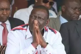 Nakuru residents angered by DP William Ruto chase away Jubilee Party officials like stray dogs