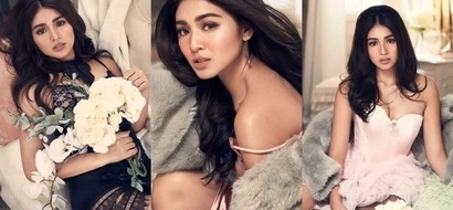 Nadine Lustre shows off seductive side for her latest product