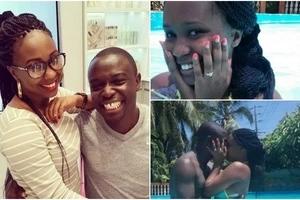 After a stupendous proposal in Jan 2016, Kenyan gospel singer finds his celebrity wife bonking her boss