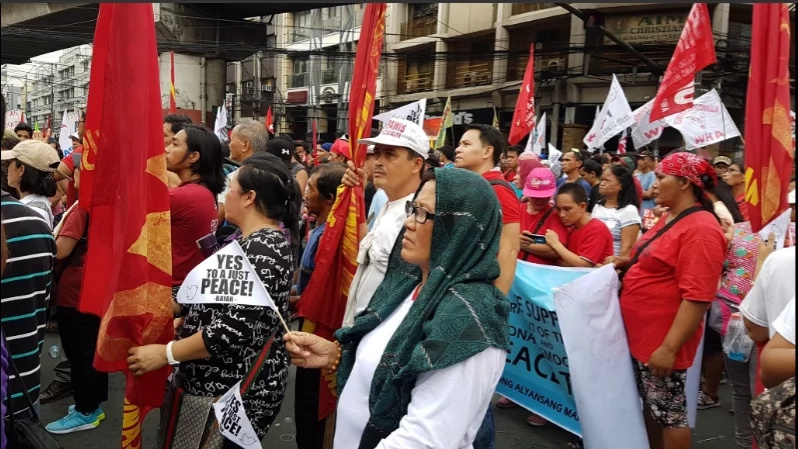 Progressive groups march to Mendiola to call for action