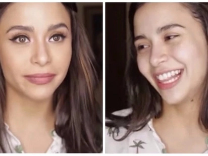 Natural ang ganda! Yassi Pressman shows how she removes her make-up and she's still drop-dead gorgeous