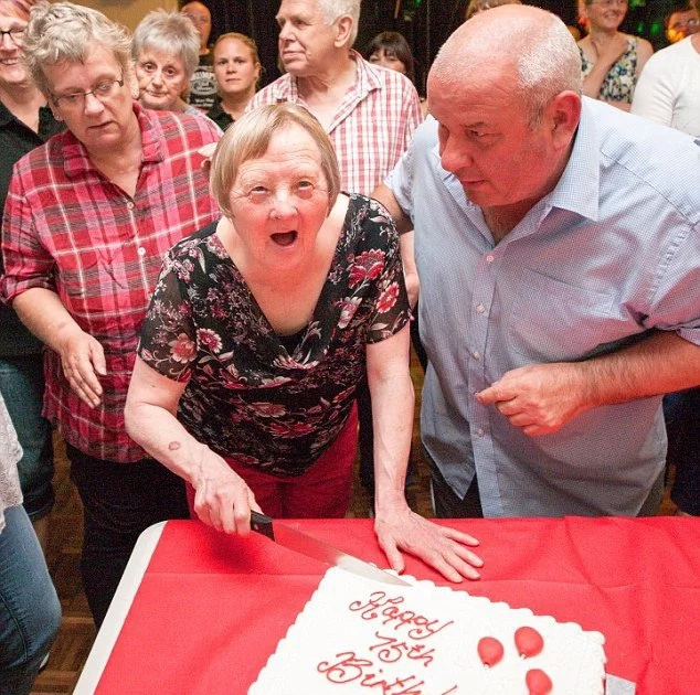 Oldest woman with Down syndrome celebrates 75th birthday