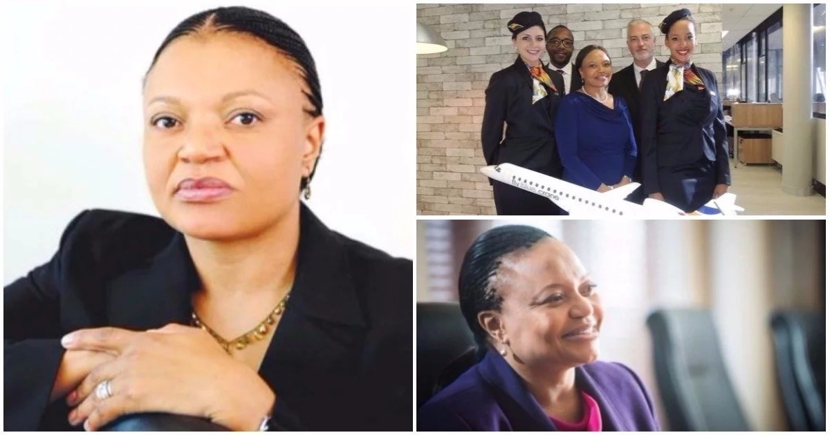 Meet female CEO who made history as the 1st black woman to launch her own airline (photos)