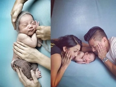 #PrimoLove: Proud parents Drew and Iya floods Instagram of baby Primo's adorable photos