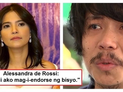 "Alessandra de Rossi revealed that she declined a P2M offer to endorse a liquor brand with Empoy: ""Ayokong mag-endorse ng alcohol"""