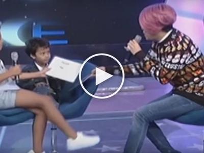 Intrigerong bata naman pala ito! Break out child star 'Onyok' asks Vice Ganda about his lovelife