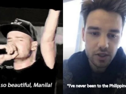 1D's Liam Payne claims he's never been to the Philippines despite performing here 2 years ago. Anyare?