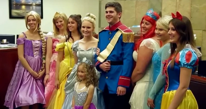 This Disney court gave a 5-year-old her fairy tale ending