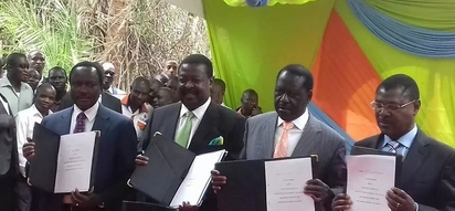 ODM downplays threats by Mudavadi's party to exit NASA over frustrations