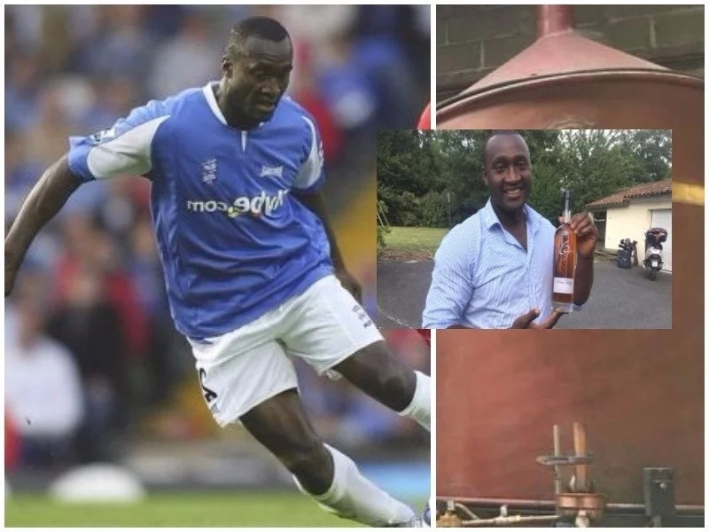 African football player abandoned football career to become a liquor tycoon (photos, video)