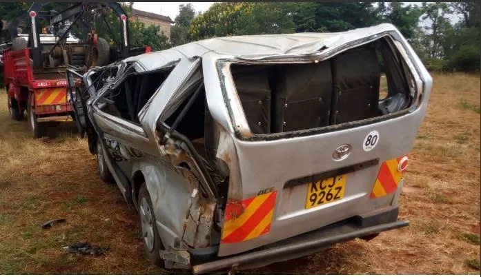Just in: School van accident in Murang'a claims 2, scores seriously injured