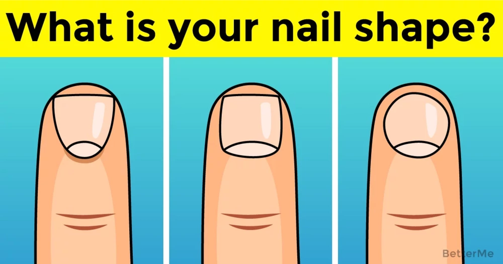 Your nail shape can reveal something about your personality