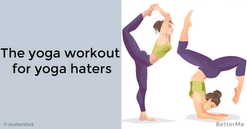 The yoga workout for yoga haters