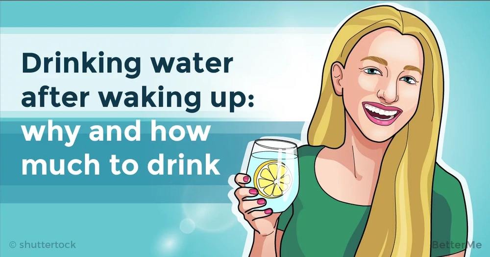 Drinking water after waking up: why and how much to drink