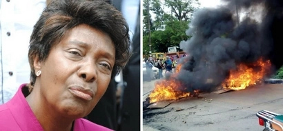 Charity Ngilu speaks for the first time after escaping death in Kitui