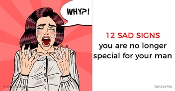 12 sad signs that indicate the man sees nothing special in the relationship
