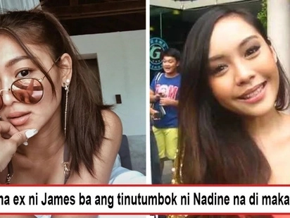 Pinapatamaan ba niya ex ng bf nya? Is Nadine's Lustre's post hitting at James' ex-gf Ericka Villongco as someone who can't move on?